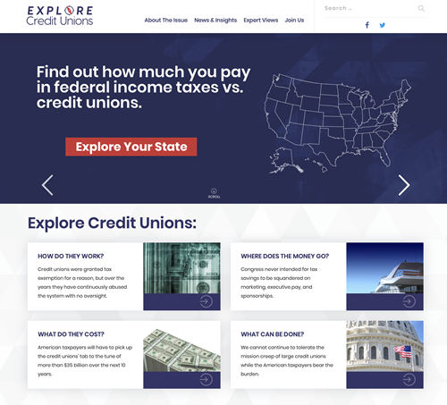 Who's Behind Slick Website That Challenges CU Tax Exemption