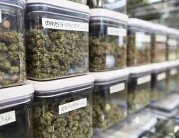 Cryptocurrency for marijuana dispensaries