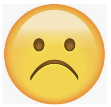 Image result for sad face emoji