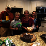 Hanscom FCU Volunteers Prepare Meal for Fisher House Guests