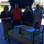 Hopewell FCU Supports Food Pantry Network