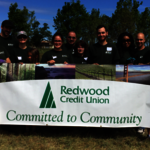Redwood CU Staff Join In Tree-Planting Effort