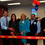 Service CU Presents Donation to Veterans, Cuts Ribbon on New Branch