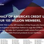 CUNA Thanks Reps With Full-Page Ad
