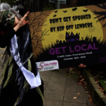 Flash Mob Of Zombies Urges The Living To Move To A Credit Union